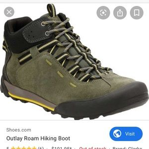 Clark's Outlay Hiking boot